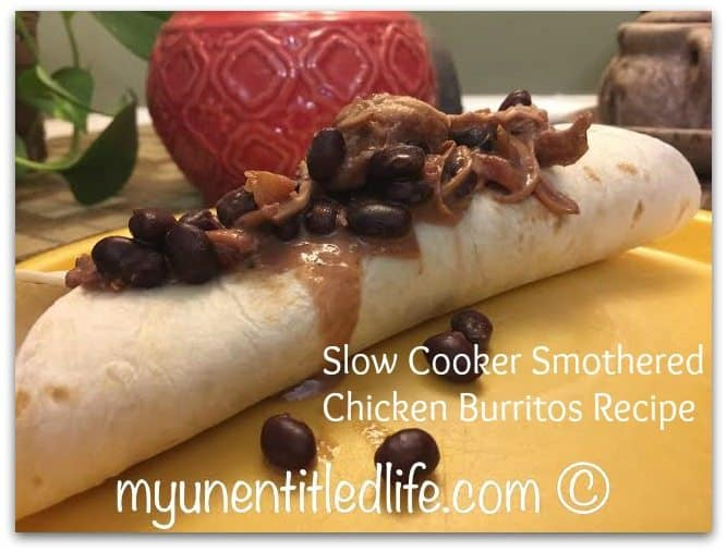 slow cooker smothered burritos recipe