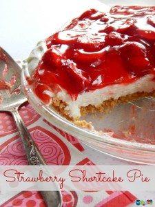 Strawberry Shortcake Pie #12daysof