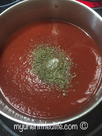 tomato sauce for chicken parmesan
