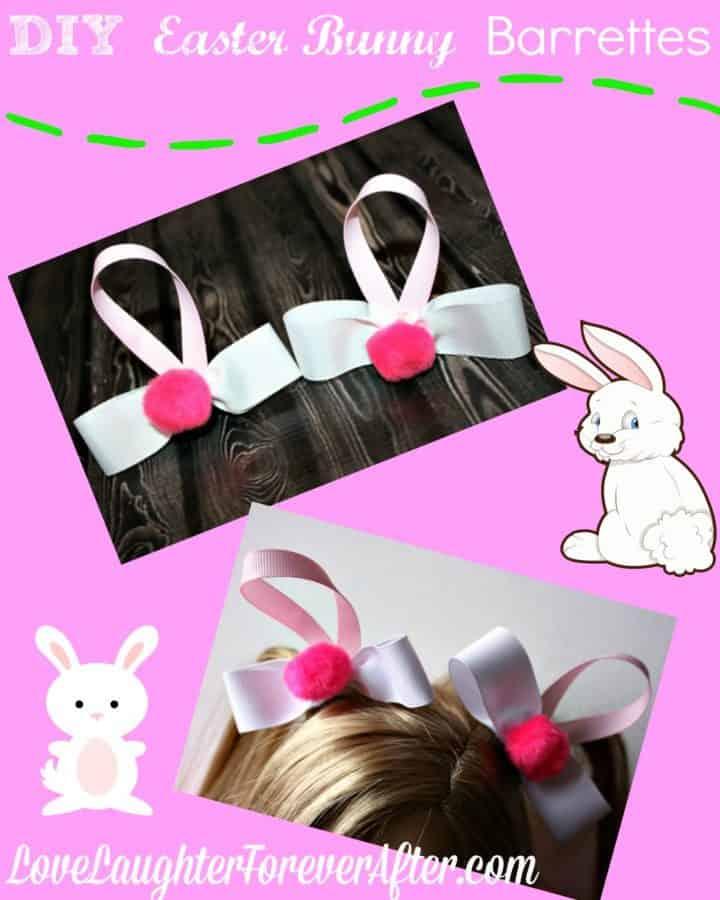 bunny barrettes