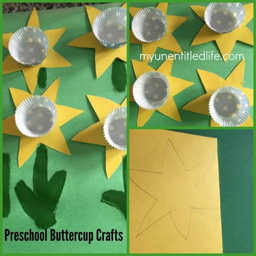 preschool buttercup craft