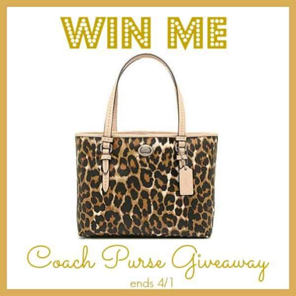 coach purse giveaway us