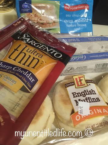 egg sandwich recipe ingredients