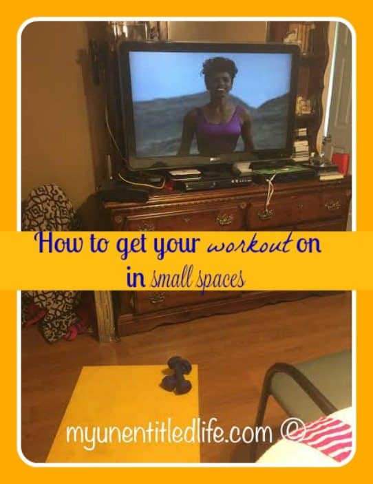 how to get your workout on in a small space