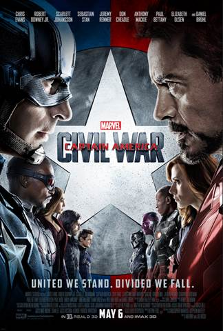 marvel civil war poster