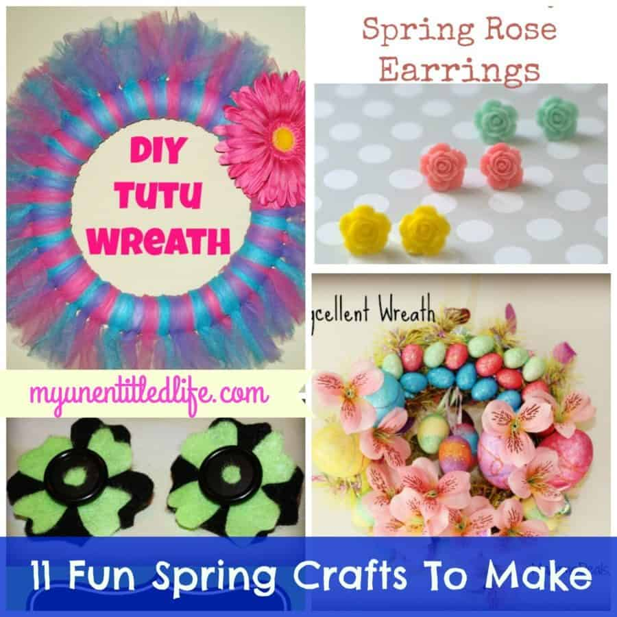 11 fun spring crafts to make