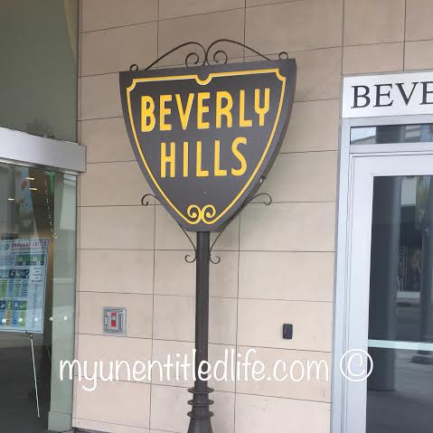 next on our walk beverly hills sign classic