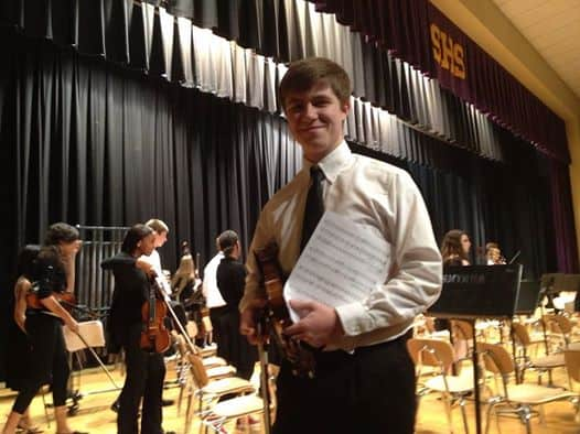 brennan and his violin