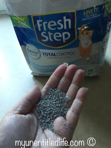 fresh step odor control litter