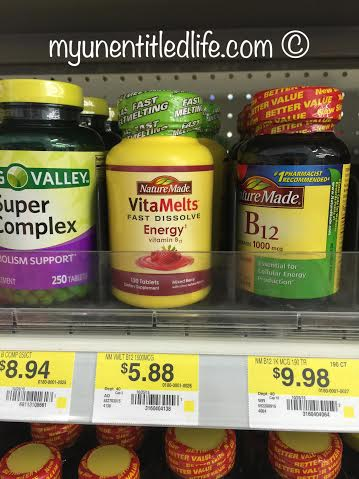naturemade vitamelts for energy