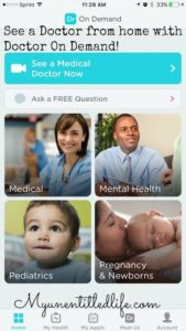 See a Doctor from home with Doctor On Demand! @drondemand #IC #DoctorOnDemand