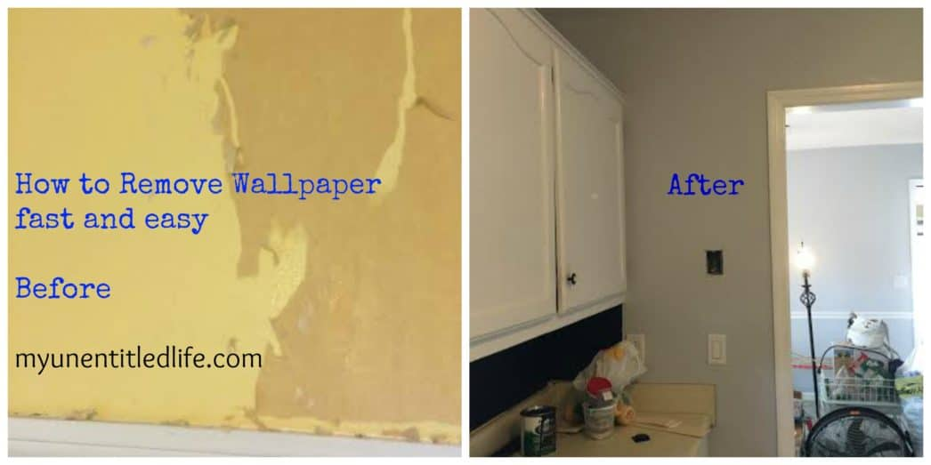 how to remove wallpaper fast and easy