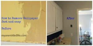 How to remove wallpaper quick and easy!