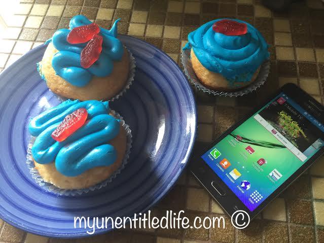 shark cupcakes homemade recipe