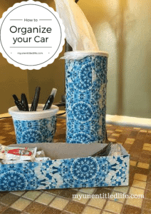 How to organize your car for summer travel #SummerCarCare #ad @WalMart