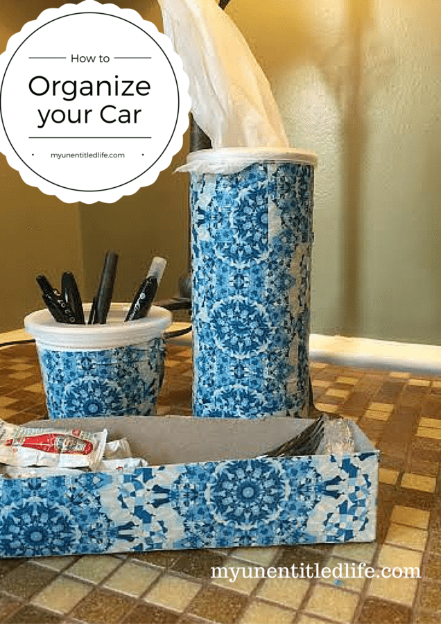how to organize your car for summer