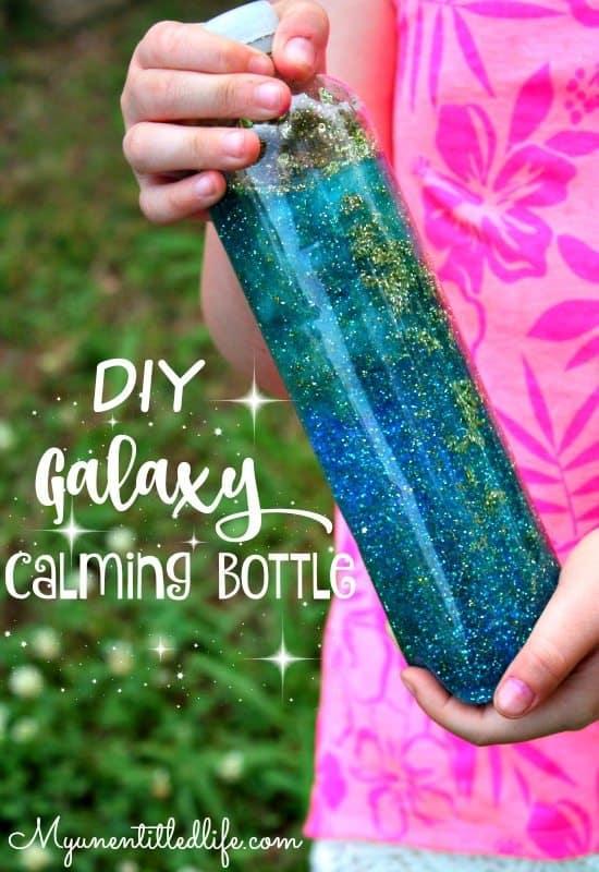 DIY Galaxy Calming Bottle