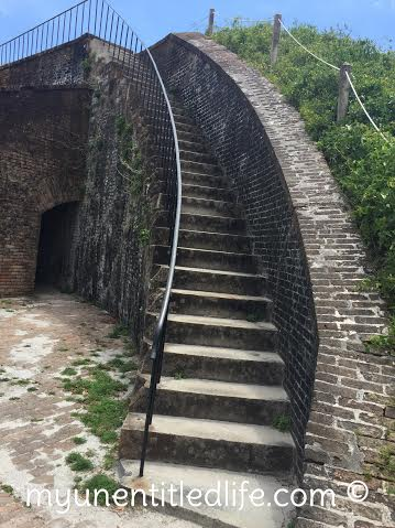 ft pickens staircase