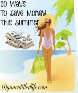 20 Ways To Save Money This Summer
