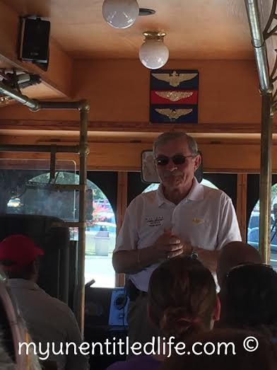 trolley tour nas