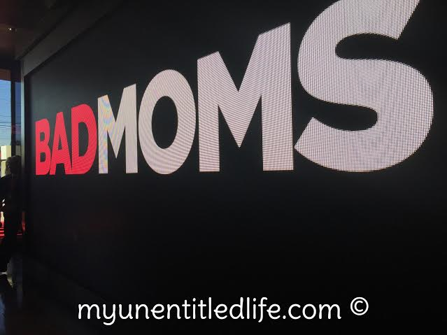 Bad Moms entrance to party