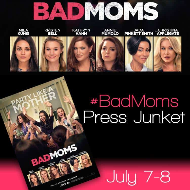 bad moms trailer and press event