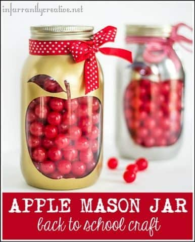 apple mason jar diy