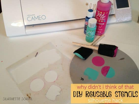 diy reusable stencils