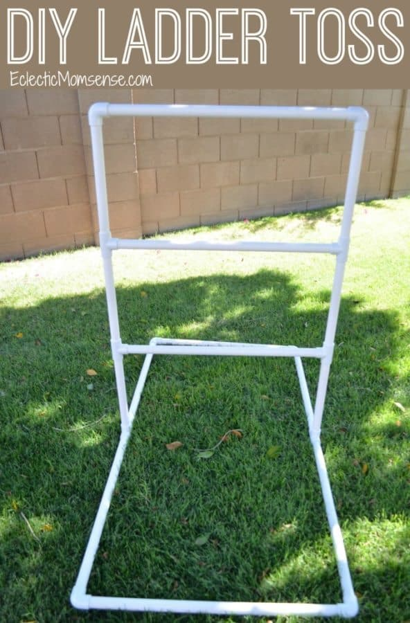 diy ladder toss game