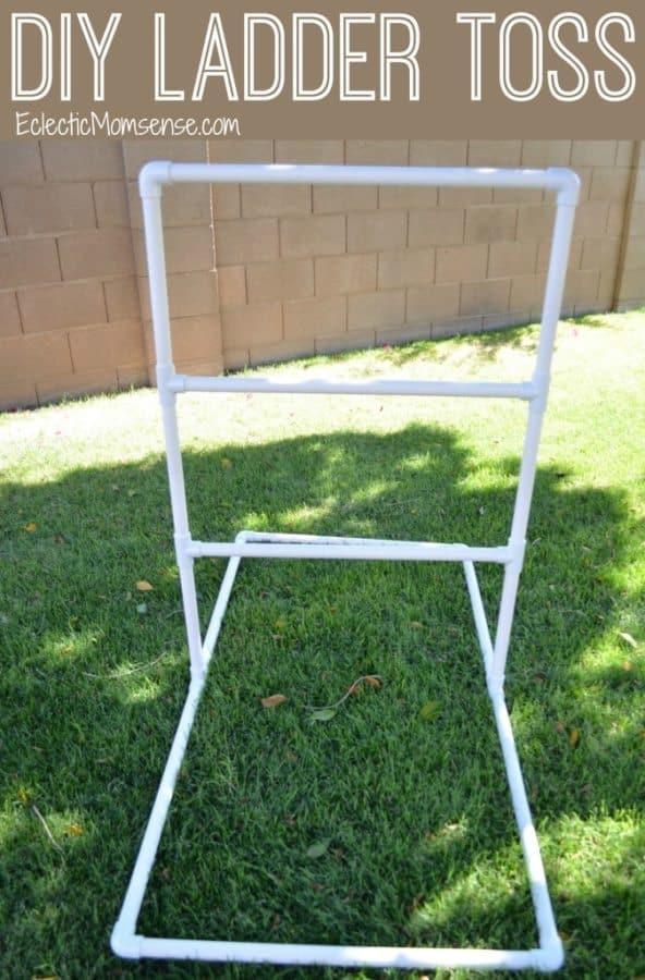 diy ladder toss game
