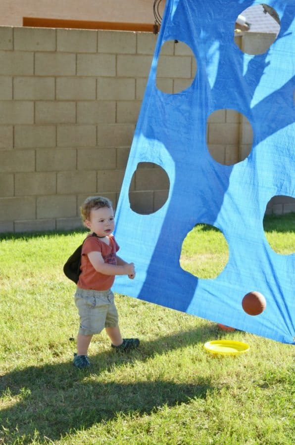 diy party toss game