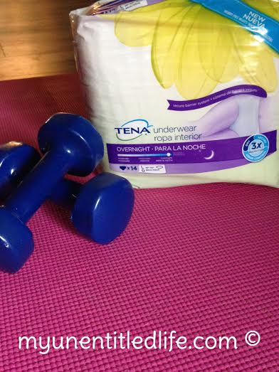 tena gets you back to exercising