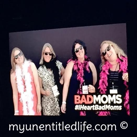 on the big screen at bad moms