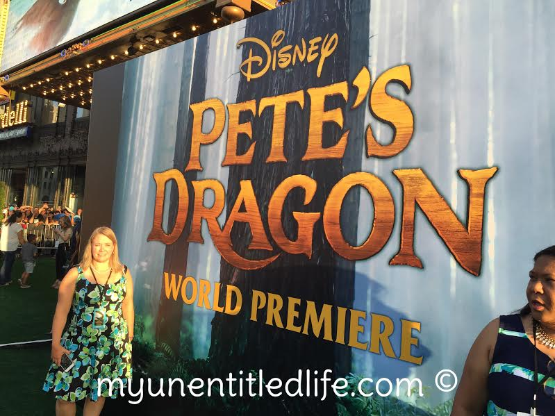 Pete's Dragon REd carpet premiere