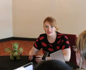 Sit down and hang with me and Bryce Howard my bff #PetesDragonEvent