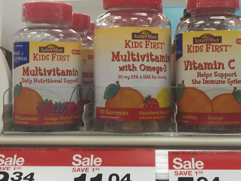 nature made kids first vitamins review