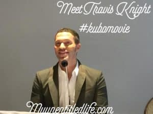 Meet Travis Knight director of Kubo and the Two Strings in theaters today!! #KuboMovie
