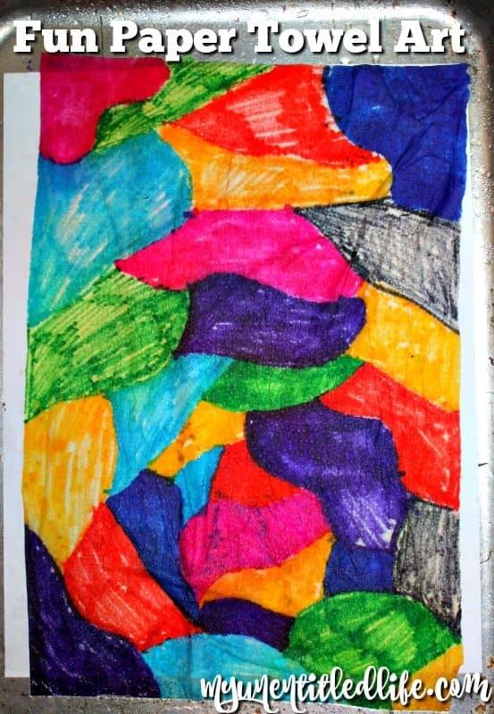 papertowel art