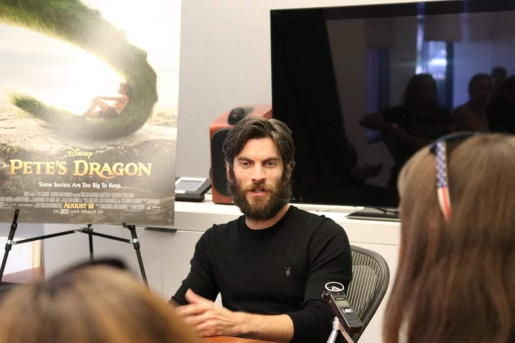petes dragon wes bentley