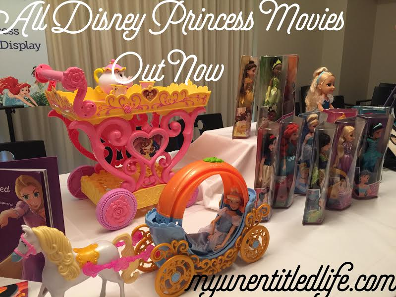 disney princess movies all out now through 10/17/16