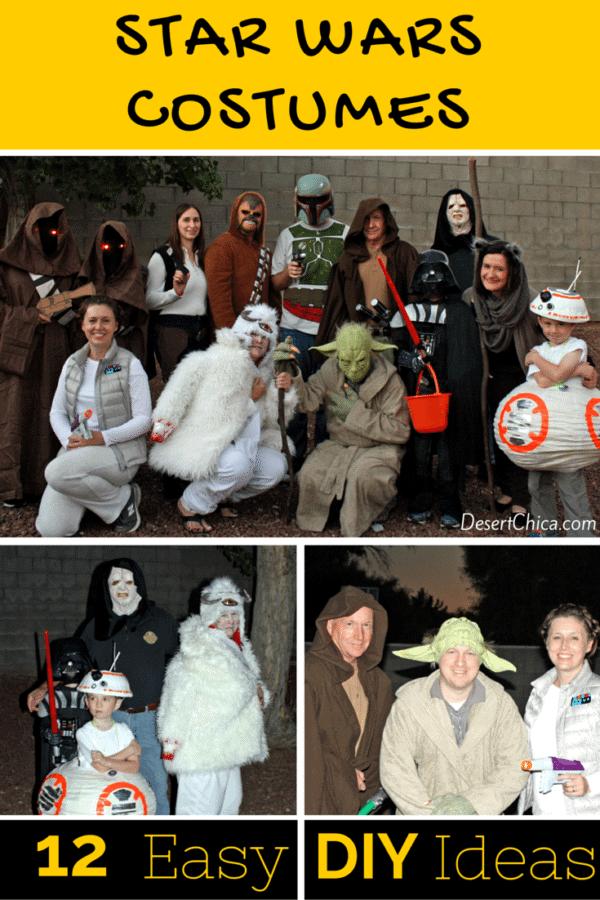 DOY Star Wars costumes