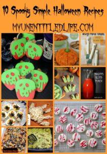 10 Spooky Simple Halloween Recipes