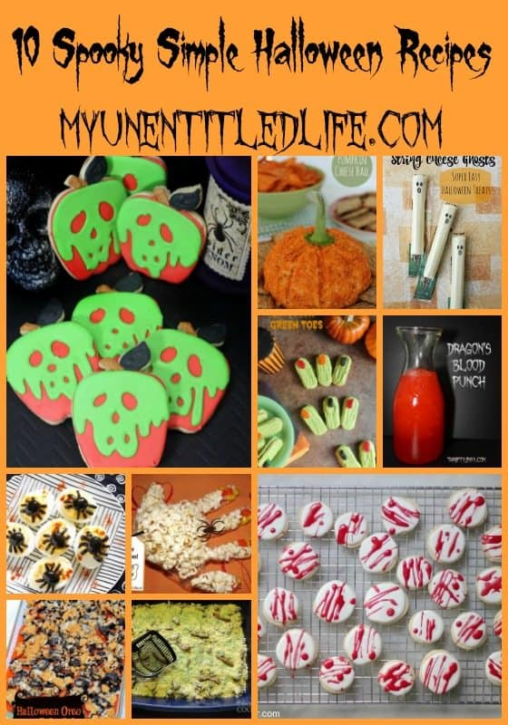 10 spooky simple halloween recipes