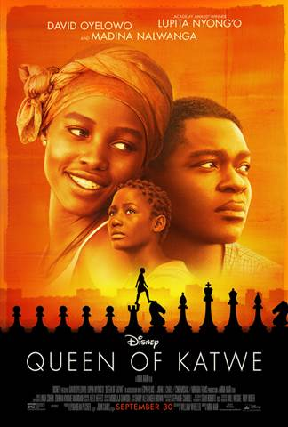 queen of katwe trailer and poster and review