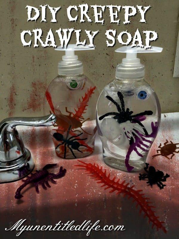 diy creepy crawly soap