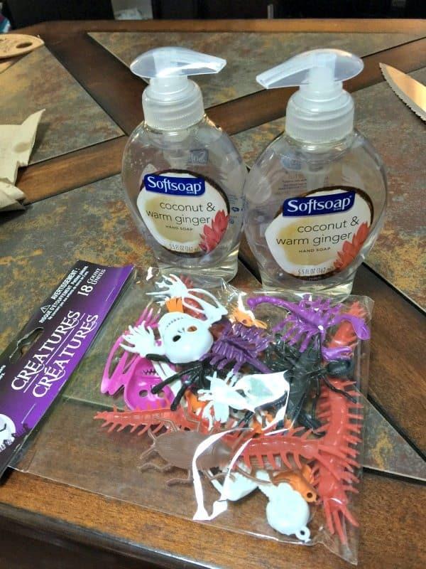 creepy crawly soap DIY