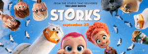Storks Movie Review and fun printables