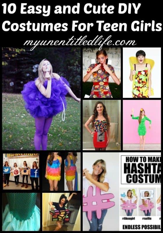 DIY Teen Costumes