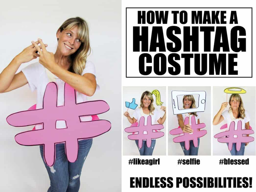 teen hashtag costume