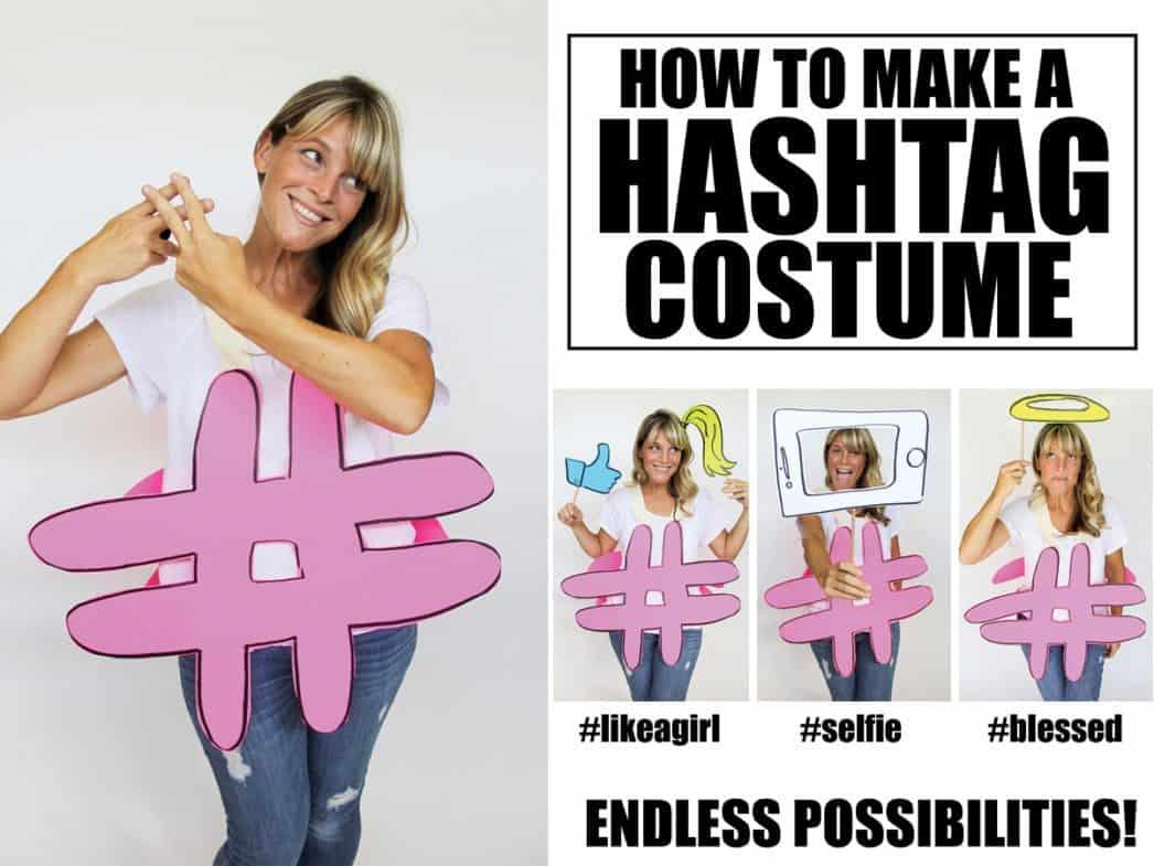 teen hashtag costume